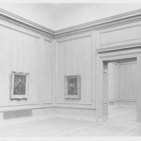 National Gallery of Art. Exhibit room in National Gallery III