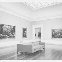 National Gallery of Art. Exhibit room no. 29 in National Gallery