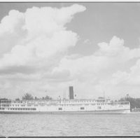 Norfolk & Washington Steamboat Co. View of District of Columbia steamship I
