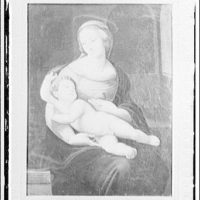 Paintings in Finley Collection. Madonna and child
