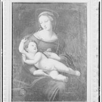 Paintings in Finley Collection. Painting of Madonna and child