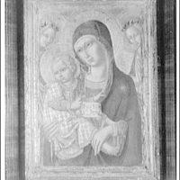 Paintings. Madonna by Sano di Pietro II