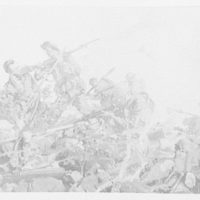 Paintings. World War battle scene VIII