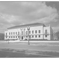 Pan American Union Building. General Secretariat annex of Pan American Union Building, front right I