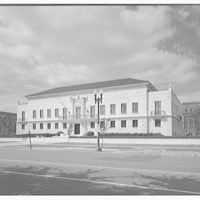 Pan American Union Building. General Secretariat annex of Pan American Union Building, front right II