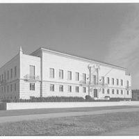 Pan American Union Building. General Secretariat annex of Pan American Union Building, front left