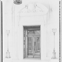 Post Office Department Building (Old Post Office Building or Pavilion). Entrance to Post Office Department with winged beast