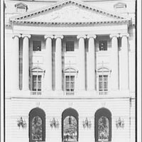 Post Office Department Building (Old Post Office Building or Pavilion). Pediment of Post Office Department Building on 12th St. I