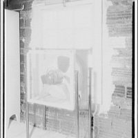Potomac Electric Power Co. air conditioning and lighting. G.E. attic fan, Joseph Crowe