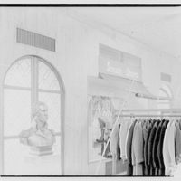 Potomac Electric Power Co. air conditioning and lighting. Hecht Department Store, men's shop