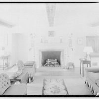 Potomac Electric Power Co. air conditioning and lighting. Hill residence, living room