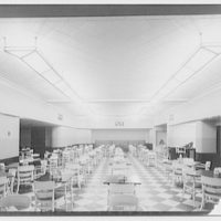 Potomac Electric Power Co. air conditioning and lighting. S & W cafeteria