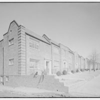 Potomac Electric Power Co. apartments and kitchens. Cafritz apartments at Meigs Pl. III