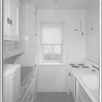 Potomac Electric Power Co. apartments and kitchens. Kitchen in apartment on 15th St., N.W.