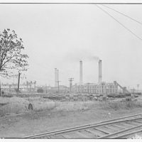 Potomac Electric Power Co. Benning plant. Benning plant rear view