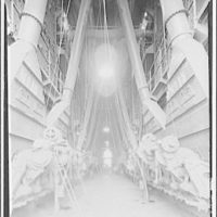Potomac Electric Power Co. Benning plant. Interior of Benning plant II