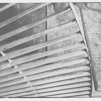 Potomac Electric Power Co. Benning plant. Turbine blades at Benning plant III