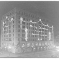 Potomac Electric Power Co. Building. Christmas view of Potomac Electric Power Co. II