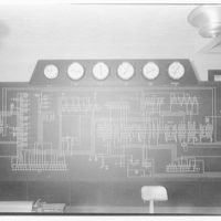 Potomac Electric Power Co. Building. Control board on 9th floor of Potomac Electric Power Co. III