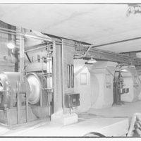 Potomac Electric Power Co. Buzzard Point plant. Blowers at Buzzard Point plant II
