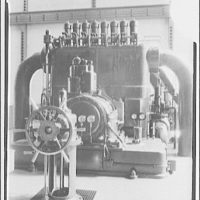 Potomac Electric Power Co. Buzzard Point plant. Closeups of turbine made for G.E. calendar IV