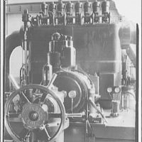Potomac Electric Power Co. Buzzard Point plant. Closeups of turbine made for G.E. calendar III