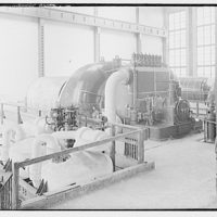 Potomac Electric Power Co. Buzzard Point plant. New or second turbine installation at Buzzard Point plant IV