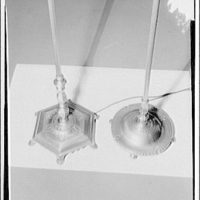 Potomac Electric Power Co. electric appliances. Bases of lamps