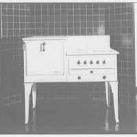 Potomac Electric Power Co. electric appliances. Electric range I