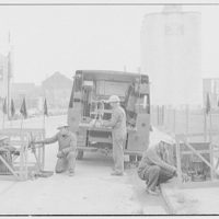 Potomac Electric Power Co. miscellaneous. Manhole crew and truck I