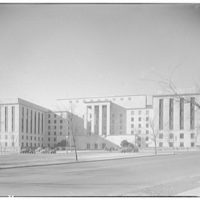 Potomac Electric Power Co. substations. Exterior of War Department Building