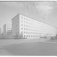 Potomac Electric Power Co. substations. Federal office building at 3rd and D St., S.W.