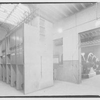 Potomac Electric Power Co. substations. Interior of substation at 18th and G. St. N.W.