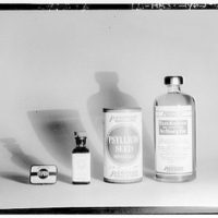 Product photographs. Various bottles of pharmaceutical products I