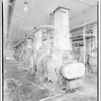 Quaker Oats Factory, Cedar Rapids, Iowa. Battery of rollers