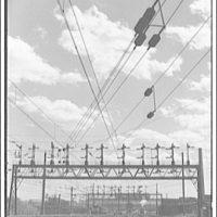 Railroad at Landon, Maryland. Railroad tracks and power lines II