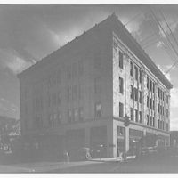 Richardson department store, Charleston, West Virginia. Exterior of Richardson department store