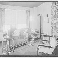 Robert Osgood's apartment. Interior of Robert Osgood's apartment I