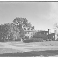 Rossburg House, University of Maryland. Exterior of Rossburg House II