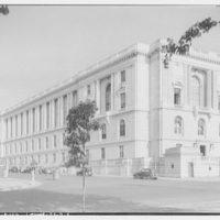 Russell Senate Office Building. Northwest corner of Russell Senate Office Building, Delaware Ave. and C St. II