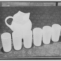 Sanitary Grocery Co. Inc. Pitcher and glasses II