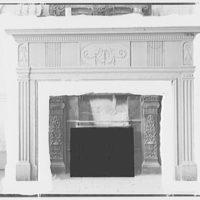 Schofield mantels. Mantel with fireplace