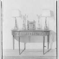 Schuyler & Lounsbery. Furniture I, Schuyler & Lounsbery