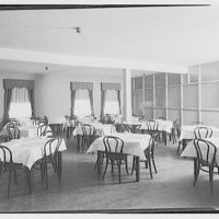 Shady Rest Sanatorium. Dining room at Shady Rest Sanatorium I