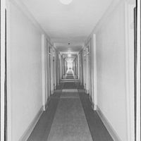 Shady Rest Sanatorium. View down hallway at Shady Rest Sanatorium I