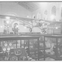 Smithsonian Institution interiors. Spirit of St. Louis in the Smithsonian IV