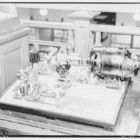 Smithsonian Institution interiors. Wire photo machine at Smithsonian Institution