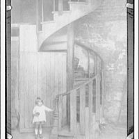 Spiral stairway, New Orleans