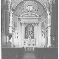 St. Aloysius on North Capitol and I St. Altar and pulpit at St. Aloysius II