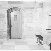 St. Ann's Church, Wisconsin Ave. Doorway beside main altar of St. Ann's Church